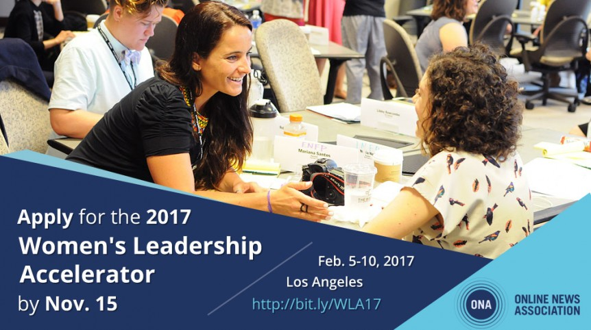 Women's Leadership Accelerator - Apply by Nov 15th