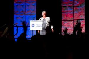 DENVER, CO - SEPTEMBER 15: Online News Association's annual conference at the Hyatt Regency Denver on September 15, 2016, in Denver, Colorado. (Photo by Anya Semenoff/Online News Association