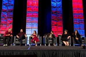 DENVER, CO - SEPTEMBER 17: Online News Association's annual conference at the Hyatt Regency Denver on September 17, 2016, in Denver, Colorado. (Photo by Anya Semenoff/Online News Association